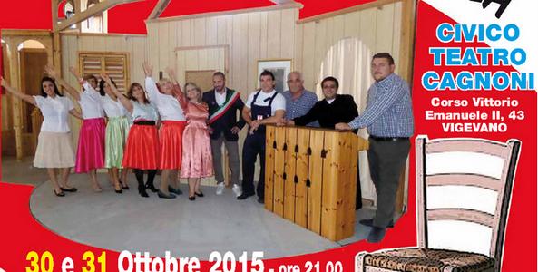 30-31/10/2015 – AGGIUNGI UN POSTO A TAVOLA – Compagnia teatrale IL GRILLO per NOI