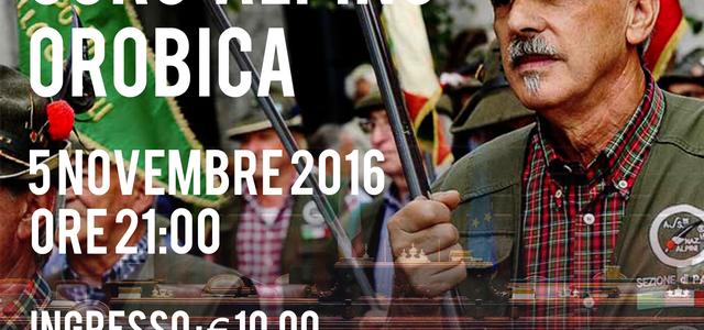 05/11/2016 – Coro Alpino Orobica per la Vigevano-Prabis